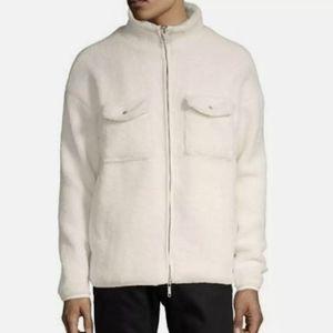 NWT Kollar Faux Shearling Overshirt Size Small